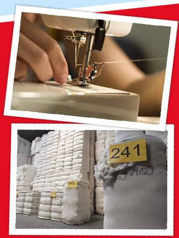Bilder vom Produktionsprozess