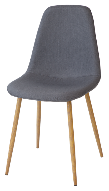 esszimmerst hle fano grau 4er set retro k chen stuhl. Black Bedroom Furniture Sets. Home Design Ideas