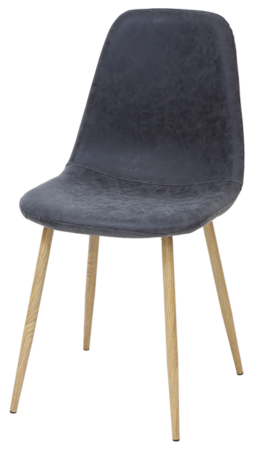 esszimmerst hle belfast 2er set schwarz retro vintage leder k chen stuhl design ebay. Black Bedroom Furniture Sets. Home Design Ideas