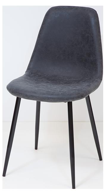 esszimmerst hle bristol schwarz 4er set retro vintage leder k chen stuhl design ebay. Black Bedroom Furniture Sets. Home Design Ideas