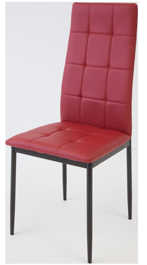 4 x esszimmerst hle rimini rot esszimmerstuhl